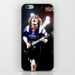 RangersStruck,  Angus Young in colour iPhone Skin