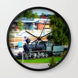 Training Day Wall Clock