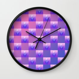 Pussy Patch Wall Clock