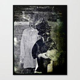 Creepy Kids Canvas Print