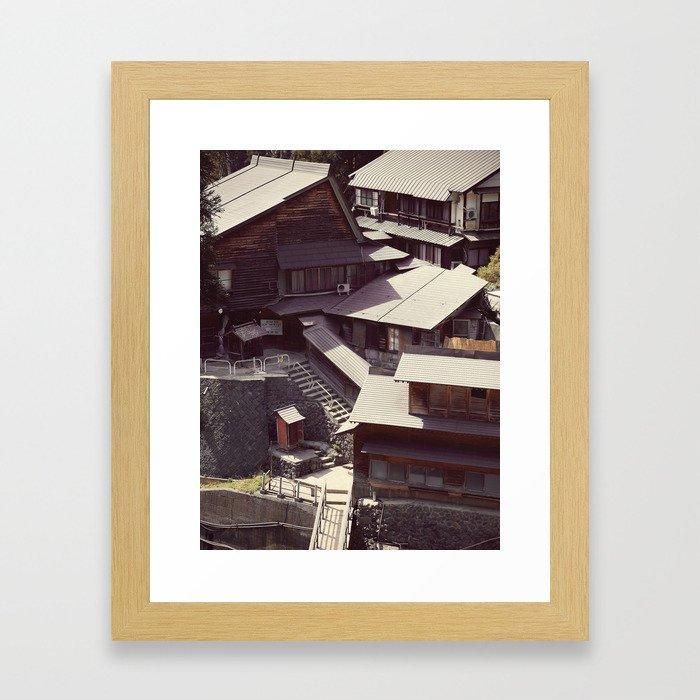 Bathhouse Framed Art Print