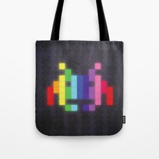 Face The Rainbow Tote Bag