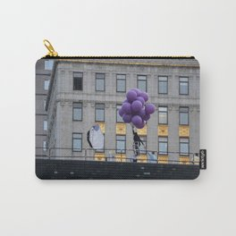Purple balloon Carry-All Pouch