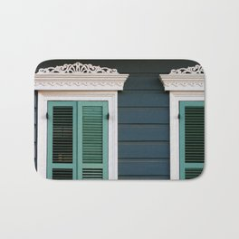 New Orleans Creole Cottage Bath Mat