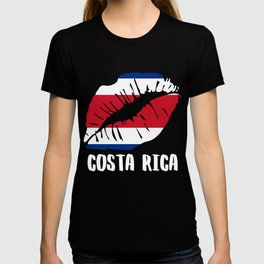 CRI Costa Rica Kiss Lips Shirt T-shirt