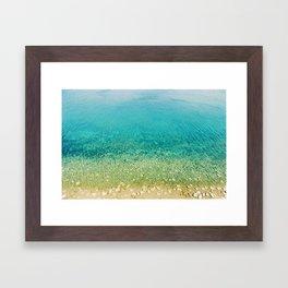 Mediterranean Sea, Italy, Photo Framed Art Print