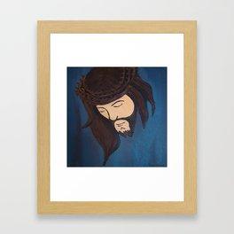 Jesus Loves Me Framed Art Print