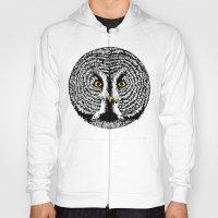 Round Owl Hoody