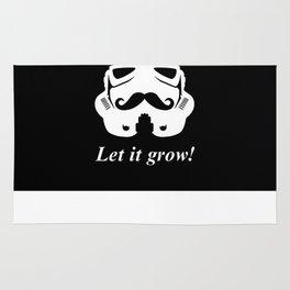 Bearded trooper Rug