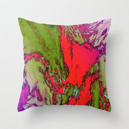 Tectonic Throw Pillow