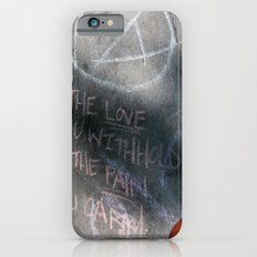 It's Just Words - #OWS iPhone 6s Slim Case