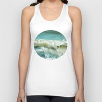 wave Tank Tops featuring Wave by Bella Blue Photography
