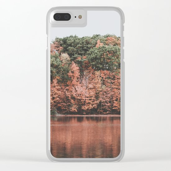 Autumn IV Clear iPhone Case