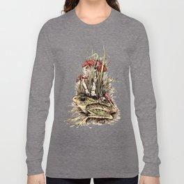 Fly-Agaric Frog Long Sleeve T-shirt
