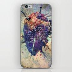 Damaged Heart iPhone & iPod Skin