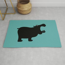 Angry Animals - Hippo Rug