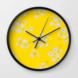 I can not wait for spring! Wall Clock