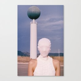 I saw towers Canvas Print