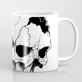 Skull (Fragmented and Conjoined) Coffee Mug