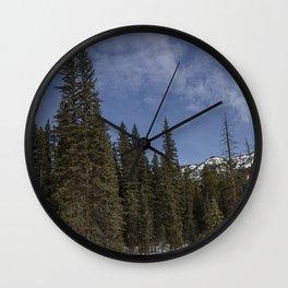 Carol M Highsmith - Winter Forest Wall Clock