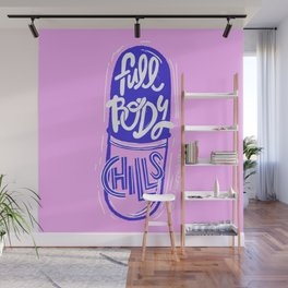 Full Body Chills Wall Mural