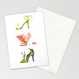 Fantasy Shoes Stationery Cards
