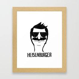 Breaking Bob - Heisenburger Framed Art Print