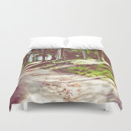 Walk With Me II Duvet Cover