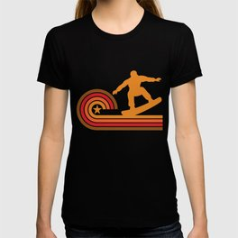 Retro Style Snowboarder Vintage Snowboarding T-shirt
