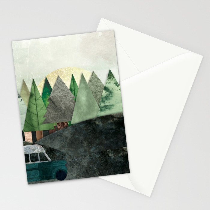 Into the Wild - Chris McCandless // Nelle Terre Selvagge - la vera storia di Chris McCandless Stationery Cards