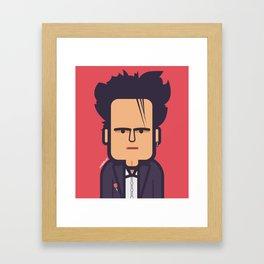 Robert Smith (The Cure) 1988 Framed Art Print