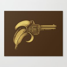 Banana Gun Canvas Print