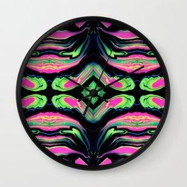 Paint Spill (Pattern 2) Wall Clock