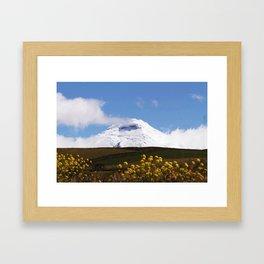 Good Morning Cotopaxi Framed Art Print