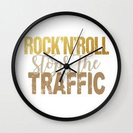 Rock'nRoll stops the traffic U 2 Wall Clock