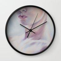 selfie Wall Clocks featuring Selfie by Sara Irene Sofia Marini