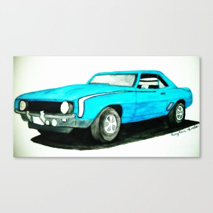 CAMERO 69' Canvas Print