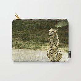 Cheetah in the Sun Carry-All Pouch
