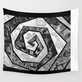 Past the madness... Wall Tapestry