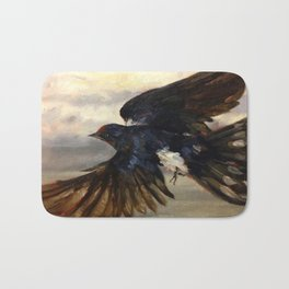 Blue Wings Bath Mat