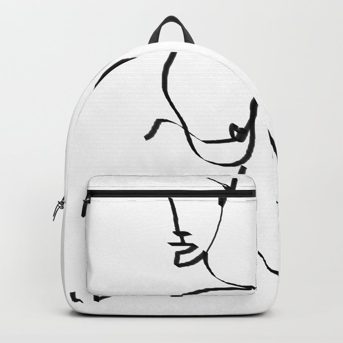 abstract nude Rucksack