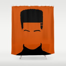 autumn orange Shower Curtain
