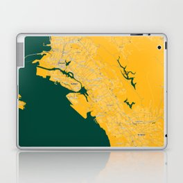 FanMap | MLB Oakland #04 Laptop & iPad Skin