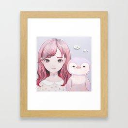 Small Friends Framed Art Print