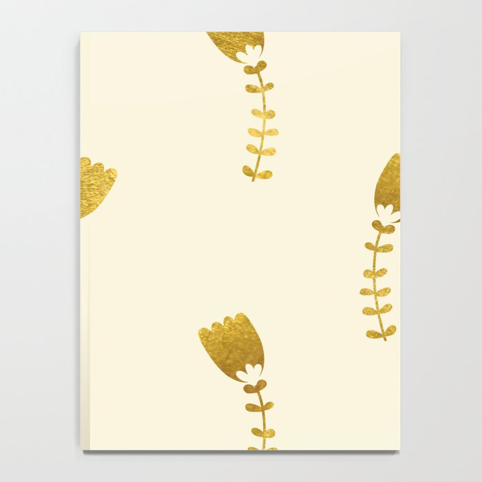 Cream Gold Foil 03 Notebook