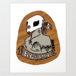 El Guama Art Print