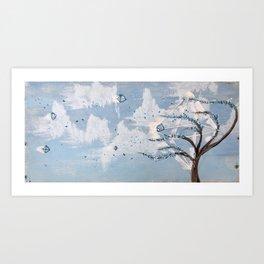 Hedral breeze Art Print