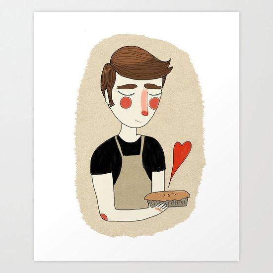 The Piemaker Art Print