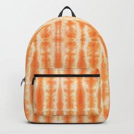 Palm Tiki Shibori Tangerine Backpack