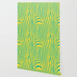 Funky zebra v2 Wallpaper